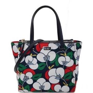 NWT kate spade - Dawn Breezy Floral Satchel